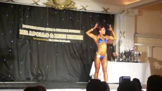 CHARLENE KEMP MR APOLLO & MISS BIKINI COMPETITION 31ST MAY 2015