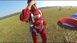 видео прыжок с парашютом подмосковье