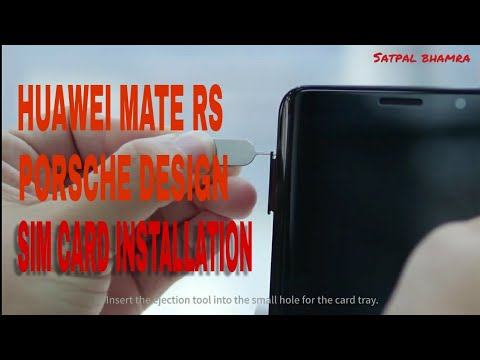 Huawei Mate 10 Pro Porsche Design Hands-on! - YouTube