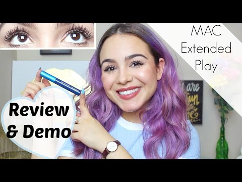 MAC Extended Play Mascara Review + Demo!