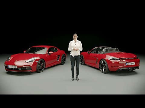 2018 Porsche 718 Boxster GTS and 718 Cayman GTS - Product Walkaround