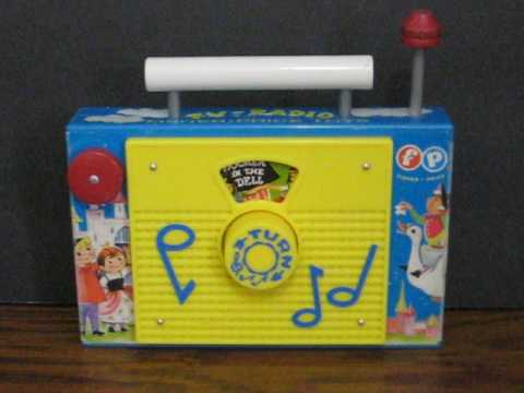 Sale Item Demo - Fisher Price TV Radio Wind Up Music Box Remake
