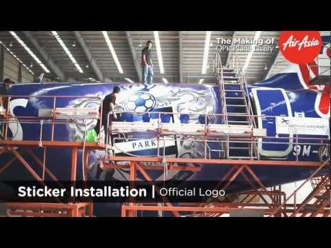 AirAsia QPR Plane Livery