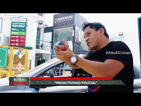"""ALTO AL CRIMEN - 21/04/18 - """"PROACTIVIDAD POLICIAL"""""""