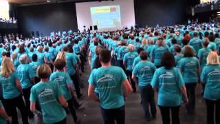 Line Dance Weltrekord St. Anton 2012