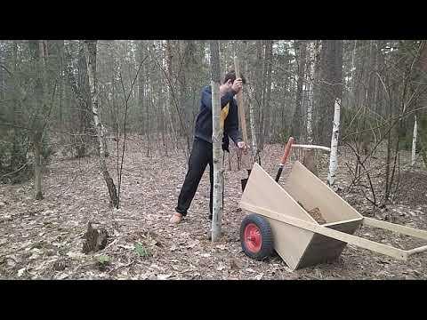 Как ставить деревянные столбы для забора из рабицы