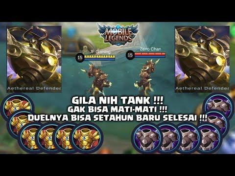 URANUS vs URANUS    Nih Tank TerGokil Jaman Now    Mobile Legends