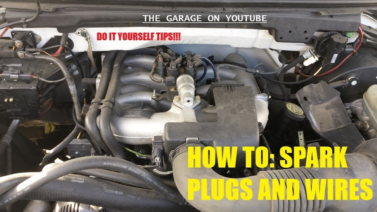 medium resolution of 2001 2003 f150 4 2 v6 spark plugs and wires how to