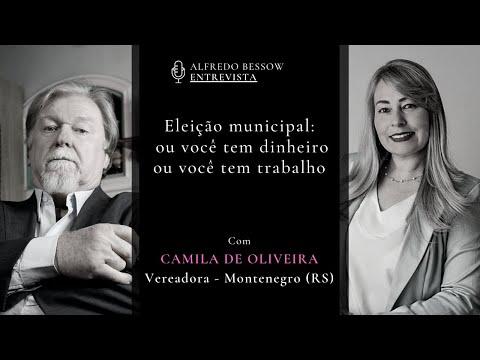 Alfredo Bessow entrevista Camila de Oliveira, vereadora eleita em Montenegro (RS)
