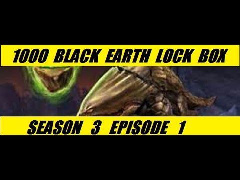 Xbox One 1000 Black Earth Lock Box Open Season 3 Part 1 Neverwinter