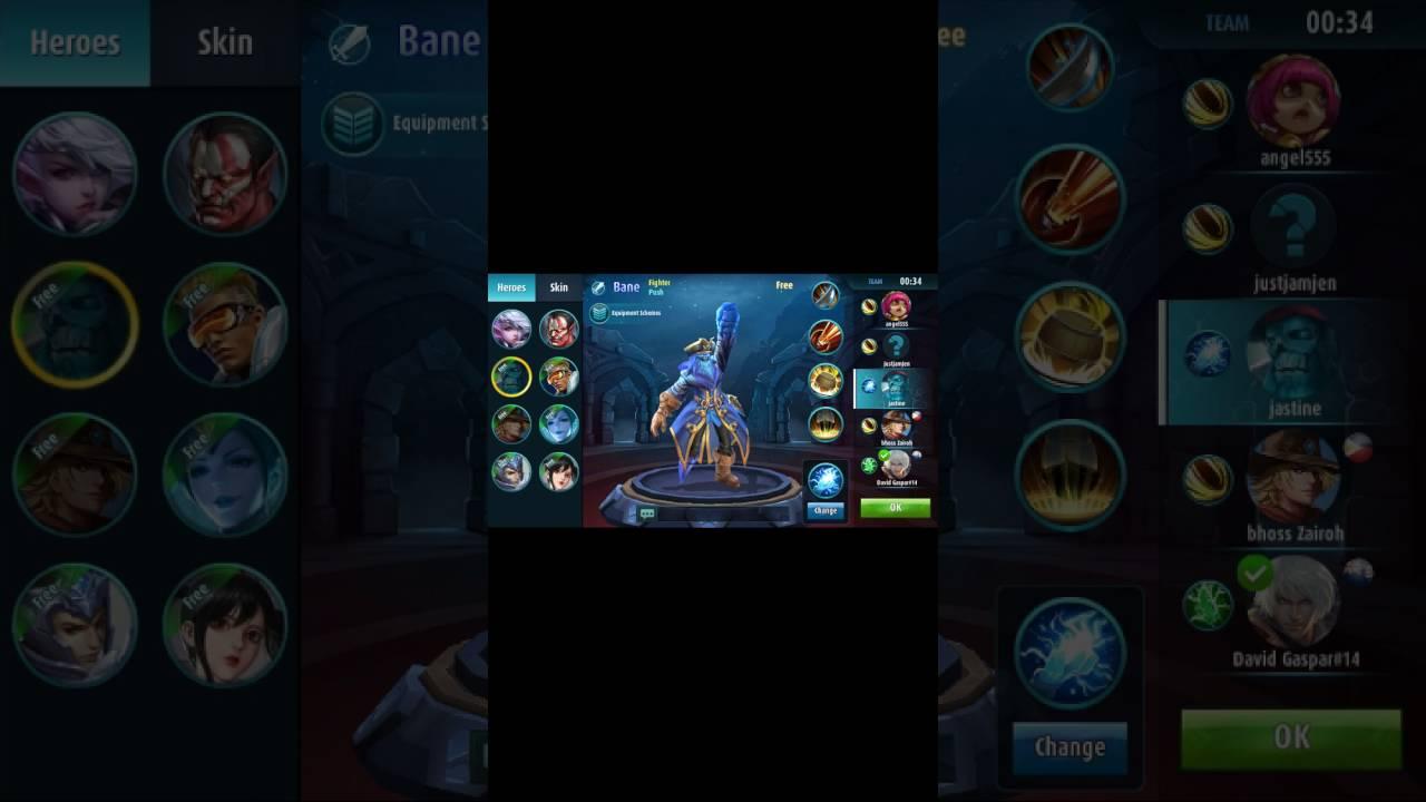 dota 2 on mobile mobile legends youtube