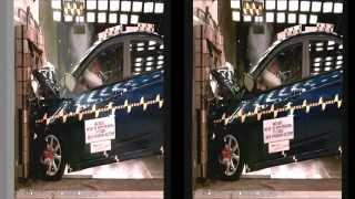 Hyundai Solaris фронтальный краш тест смотреть