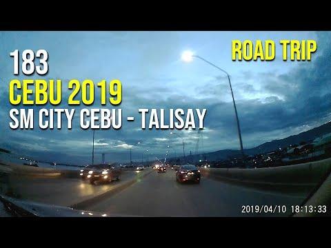 Road Trip #183 - Cebu 2019: SM City Cebu to Talisay City