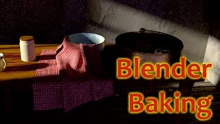 Blender Tutorial - Texture Baking in Cycles