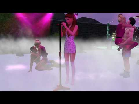 Les Sims 3 Ariana Grande - Side To Side (Live...
