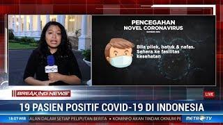 Tambahan Pasien Positif Corona Berada di Jakarta dan Luar Jakarta