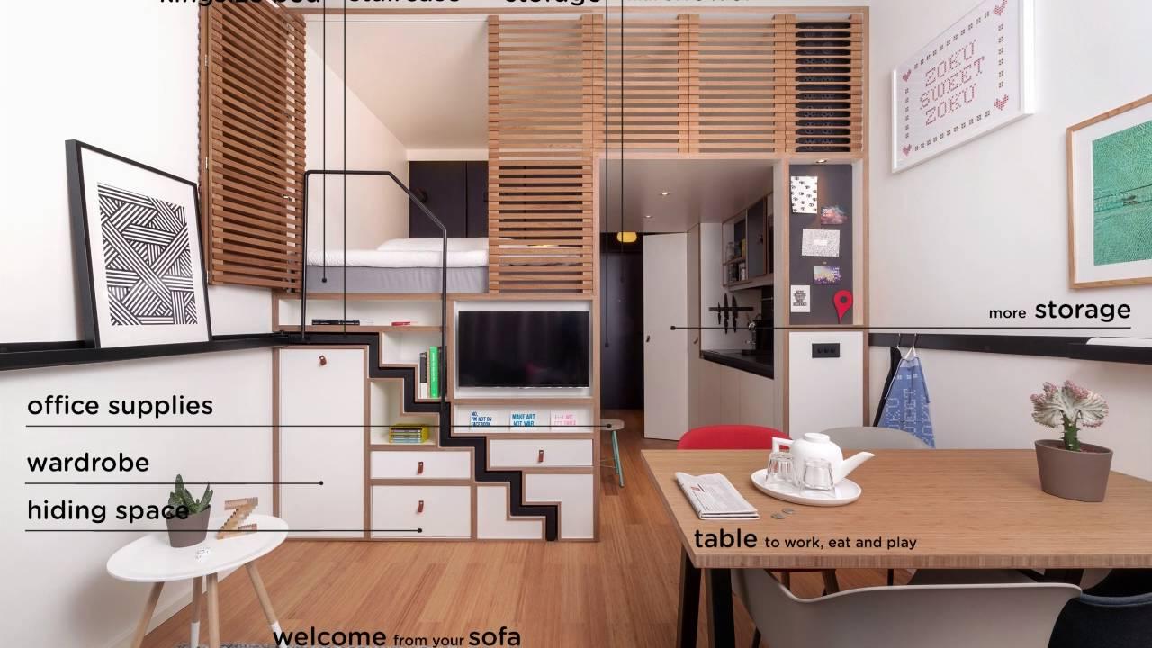 The zoku loft in 18 seconds youtube - Loft design amsterdam standard studio ...