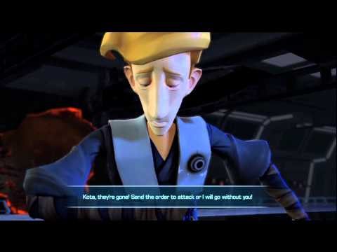 Guybrush ThreePkiller in a Cinematic Cut Scene!  Star Wars The Force Unleashed 2