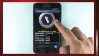 Polaris Navigation GPS - Convert your phone into a powerful GPS - Android app demo video