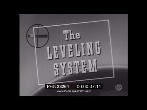 NORDEN BOMBSIGHT TRAINING FILMHOW TO LEVEL THE BOMBSIGHT 23261