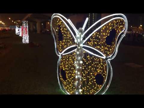 Sheikh Zahid Road Designed Lighting