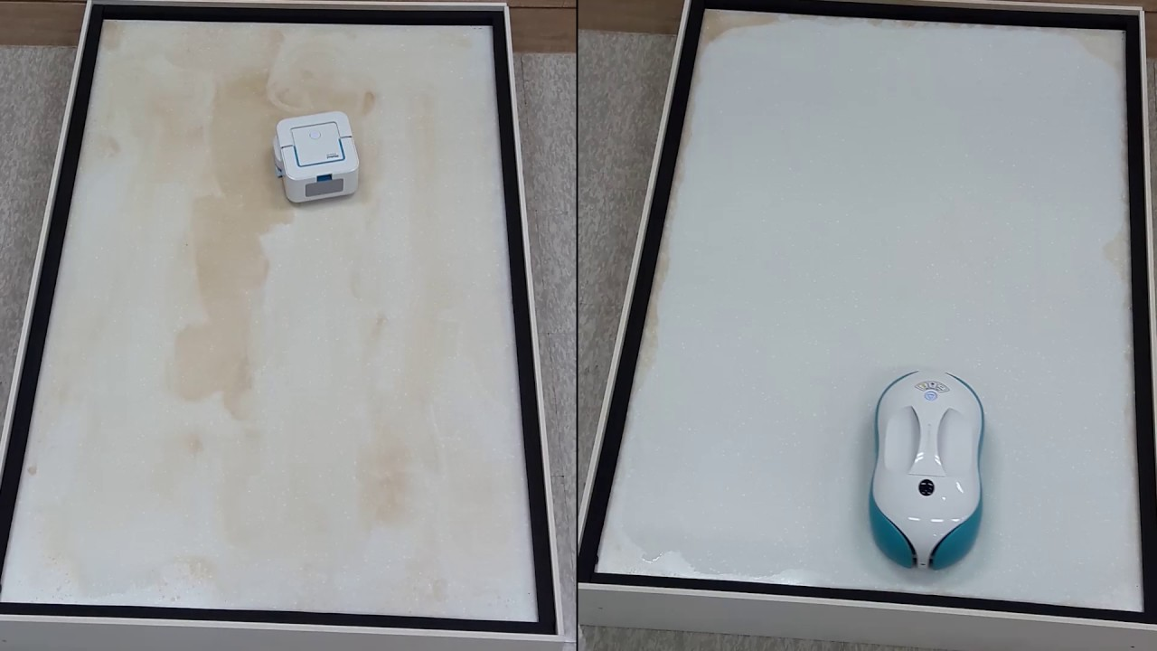 Comparison test iRobot Braava Jet 240 and Everybot RS500