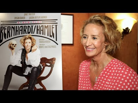 Janet McTeer, Theresa Rebeck & More Talk BERNHARDTHAMLET