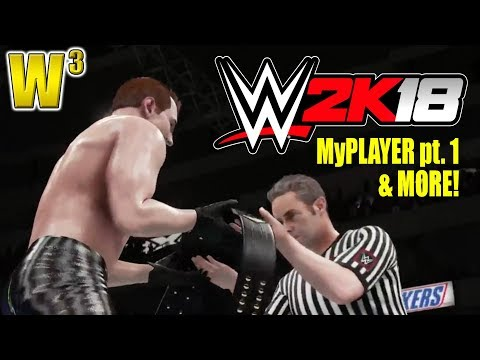 WWE 2K18 Livestream! MyCareer Part 1 and More! | Wrestling With Wregret