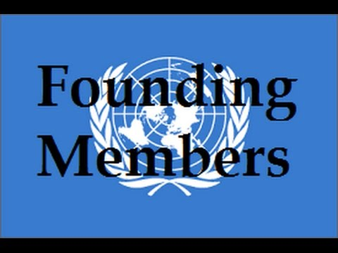 Founding Members of the United Nations