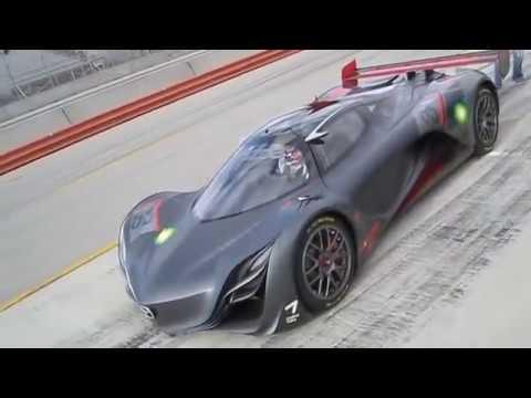 Mazda Furai Concept w/ rotary sound