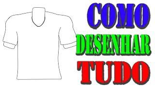 Como desenhar camisas #11 Copa do Mundo 2014 #11 (How to draw shirts #11 World Cup 2014 #11)