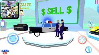 Dude Theft Wars: Open World Sandbox Simulator BETA - Police Cars | Android Gameplay HD