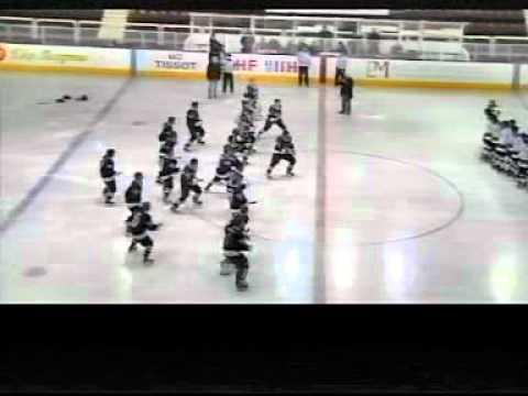Charl Pretorius-- All Black Haka Performed On Ice