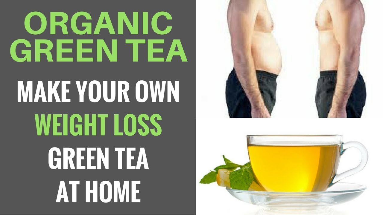 How to make green tea for weight loss at home