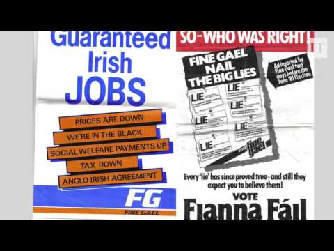 What exactly is the difference between Fianna Fáil and Fine Gael?
