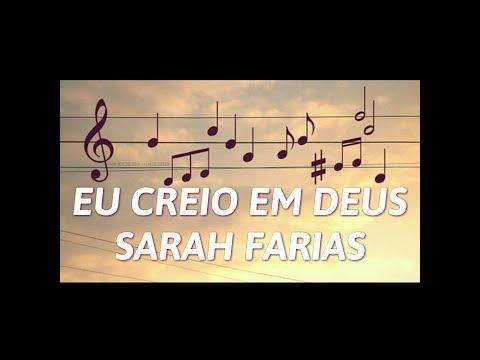 EU CREIO EM DEUS - SARAH FARIAS VOZ LETRA