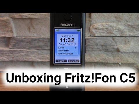Unboxing AVM FRITZ!Fon C5
