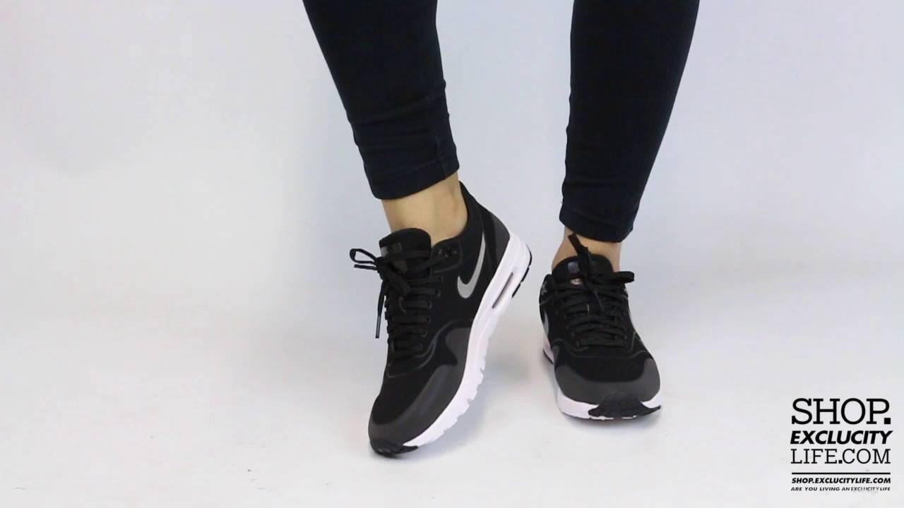 new products cdeb5 e1bbe Nike Air Max 1 Ultra Essential Black Anthracite On feet Video at Exclucity