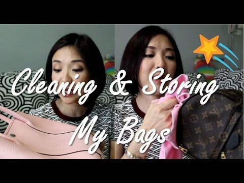 How I Clean & Store My Luxury Bags | Kat L