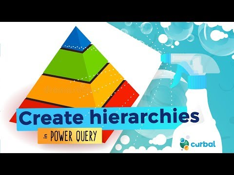 Create Hierarchies in Power Query