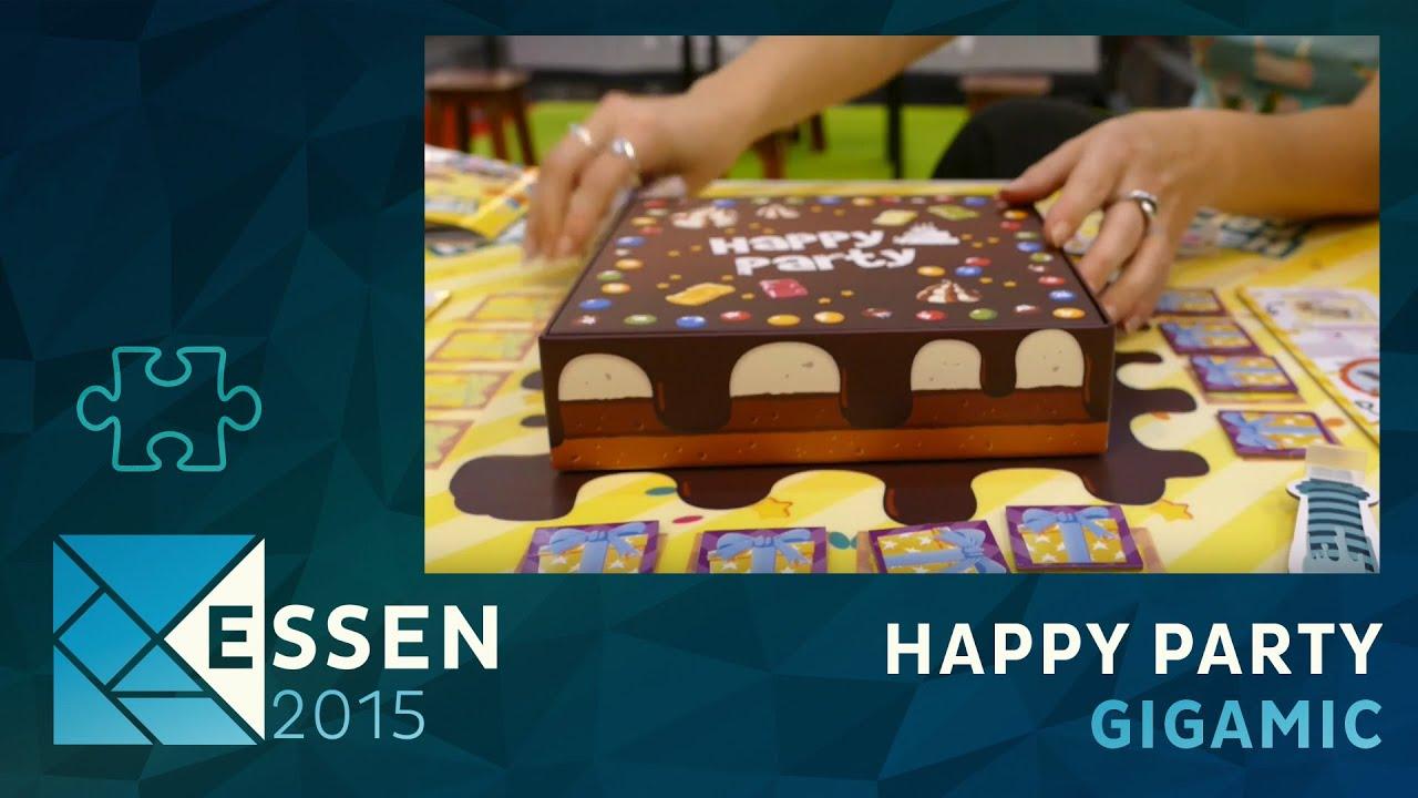 essen 2015 - jeu happy party - gigamic - vf - youtube