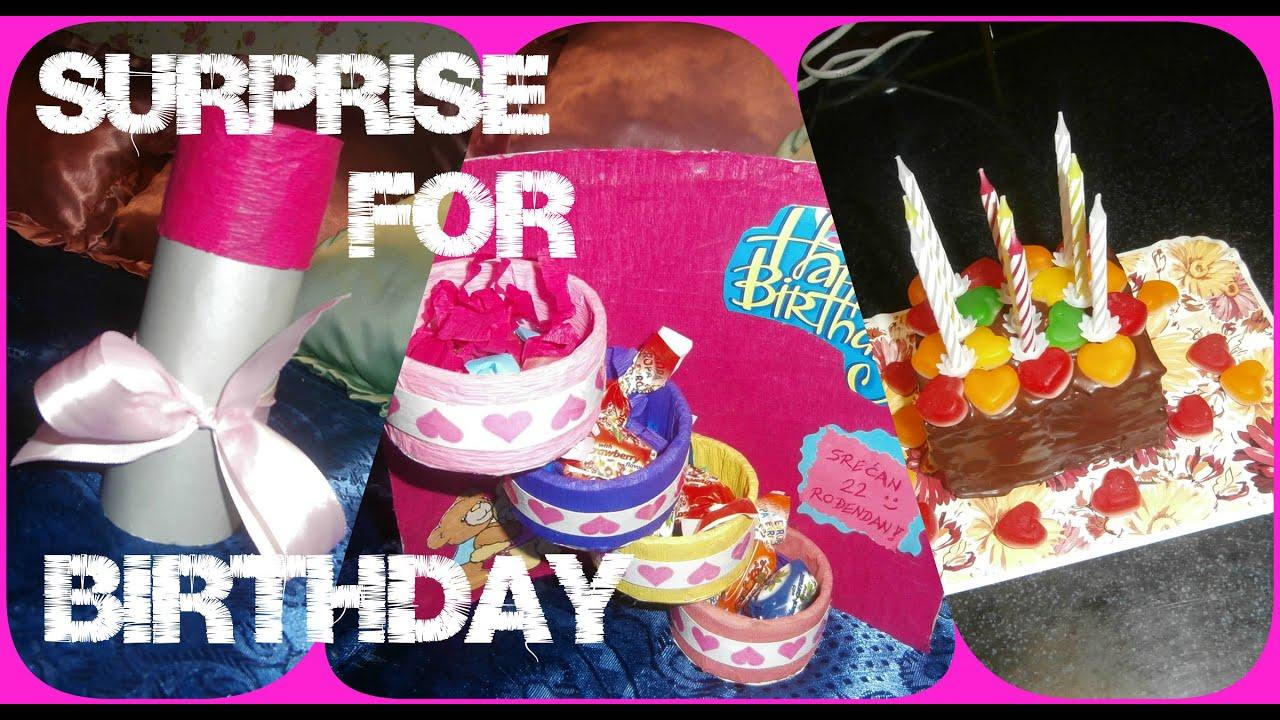 iznenađenja za rođendan prijateljici kako iznenaditi drugaricu za rodjendan #3 / How to surprise friend  iznenađenja za rođendan prijateljici
