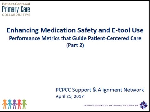 Effective Partnerships for Enhancing Medication Safety and E tool Use