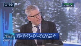 See No One Ahead Of Us In 5g Race, Ericsson Ceo Says