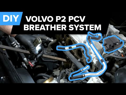 Volvo S60 PCV Breather System Replacement – Prevent Smog! (C70, S60, S80, V70, XC70, XC90)