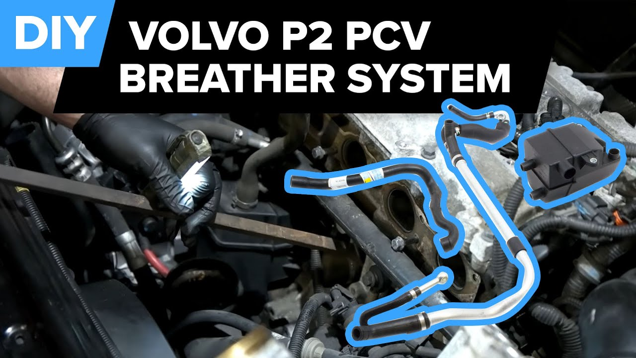 volvo s60 pcv breather system replacement prevent smog c70 s60 s80 v70 xc70 xc90  [ 1280 x 720 Pixel ]