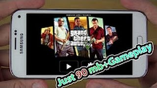 Download and Play GTA V on Android in Just 90 MB + Gameplay