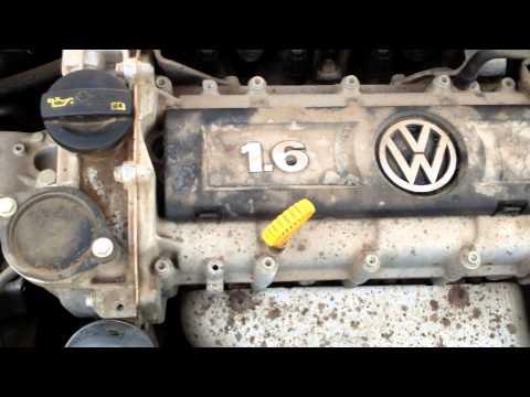 Стук двигателя VW Polo Sedan.
