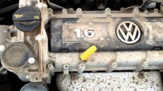 Стук двигателя VW Polo Sedan.(, 2015-09-04T05:42:02.000Z)