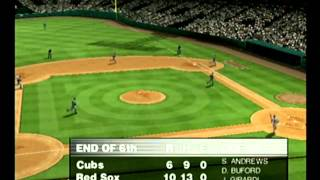 World Series Baseball 2K1 Cubs vs Red Sox Dreamcast Part 3